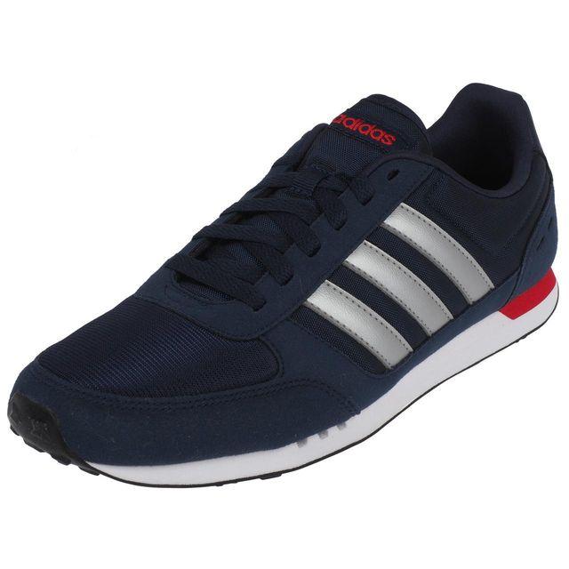 Adidas Neo Chaussures running mode City racer nv h Bleu