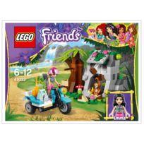 Lego - 41032 Friends - La moto de secours de la jungle