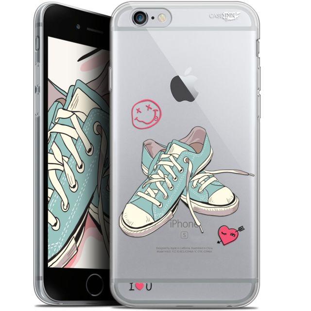 coque gel apple iphone 6 plus iphone 6s plus 55 extra fine motif mes sneakers d amour