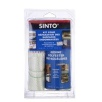 SINTO - KIT SINTOFER pour réparation des surfaces endommagées 500 ML résine + ½ m² tissu - 31150