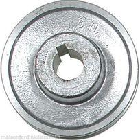 Ribimex - Poulies en aluminium. Axe 28 mm Poulie 80mm