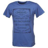 Solid - Tee shirt manches courtes Giacopo marlin mc tee Bleu 28204