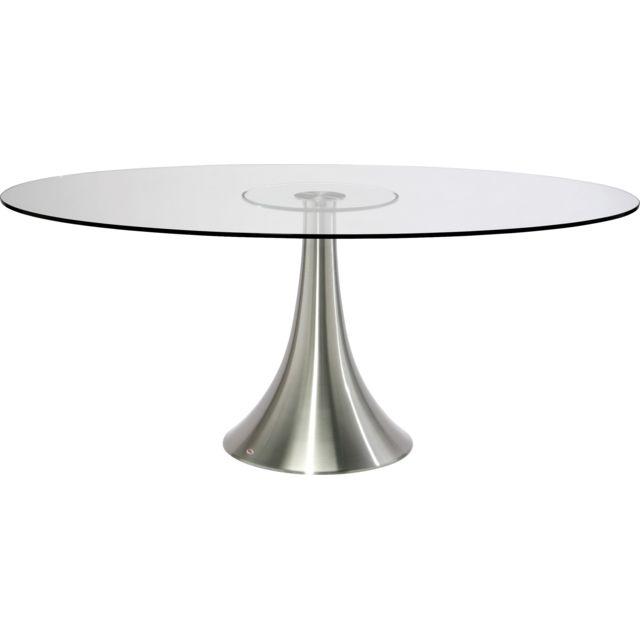 Karedesign Table en verre Grande Possibilita 180x120cm Kare Design