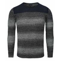Carisma - Pull mode homme Pull Cr7301 bleu marine