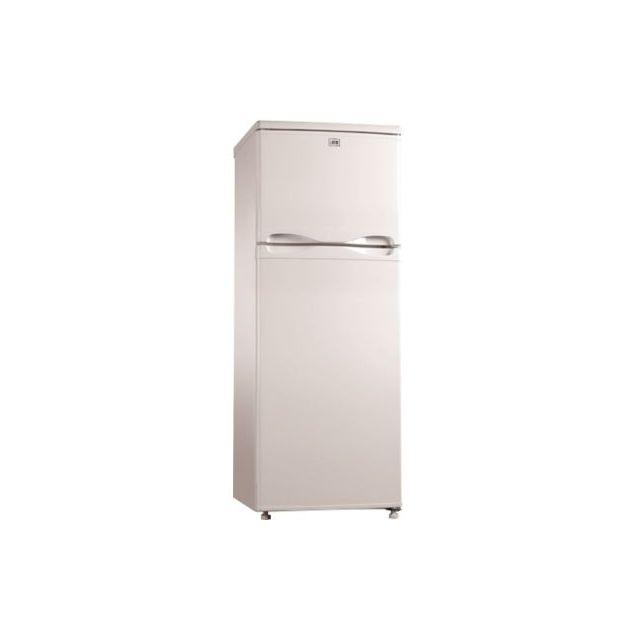 LISTO Réfrigérateur congélateur en haut RDL 145-55b1