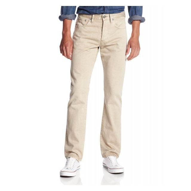 bfd4e3e564807 G-star Raw - Pantalon G-star 3301 Beigex32 Couleur Beige - pas cher ...