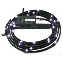 NZXT - Câble LED gainé CB-LED10-WT 12x LED - 1 m - Blanc