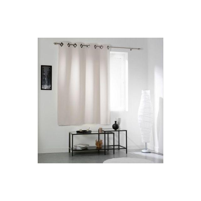 la maison d 39 amelie rideau occultant oeillets 140x180 cocoon pas cher achat vente rideaux. Black Bedroom Furniture Sets. Home Design Ideas