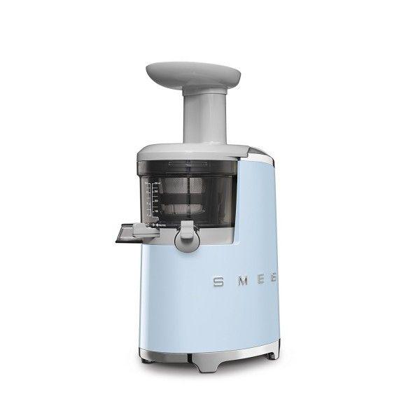 SMEG Extracteur de Jus Années 50 - Rotation lente Bleu SJF01PBEU