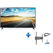 LG - TV LED 49'' 123cm - 49UJ630V + KIT SUPPORT FIXE 400