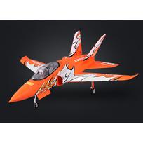 FAMOUS - FMS Super Scorpion Jet 90mm EDF ORANGE PNP