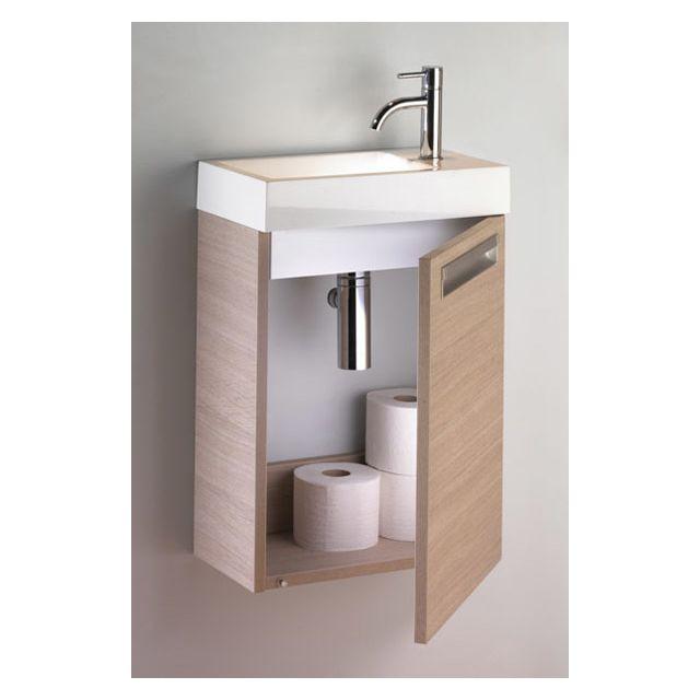 riho ensemble meuble lavabo lucca set 5 en acrylique brillant 40x22 h 57 5 cm au choix pas. Black Bedroom Furniture Sets. Home Design Ideas