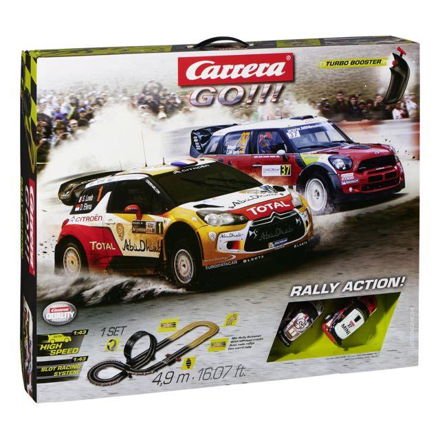 carrera go circuit lectrique rally action 20062434 pas cher achat vente circuits. Black Bedroom Furniture Sets. Home Design Ideas