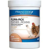 Francodex - Pluma-pick pour volaille pot 250g
