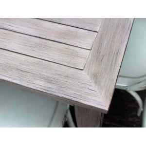Résidence - Salon de jardin Vintage table + chaises - Couleur ...