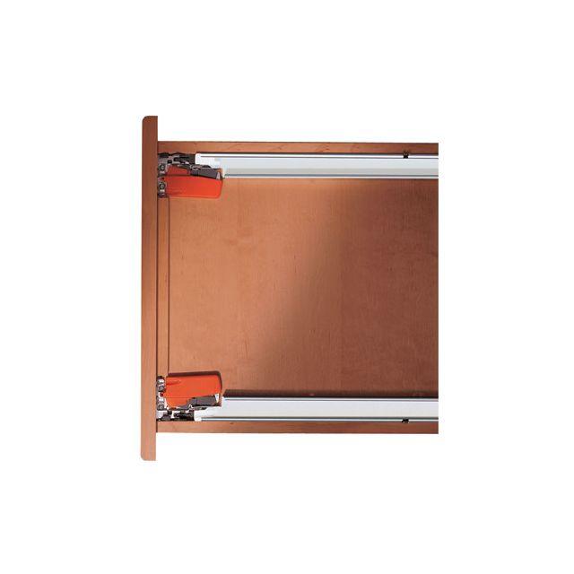 blum clips d 39 accouplement pour coulisse tandem tiroir bois r f sens. Black Bedroom Furniture Sets. Home Design Ideas
