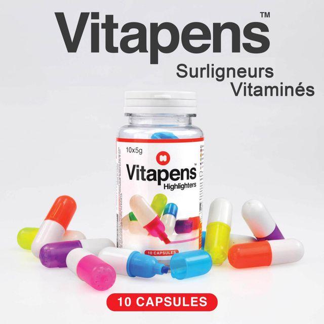 Kas Design Vitapens, les Surligneurs Vitaminés