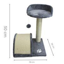 Griffoir Arbre à chat 50 cm - Modèle Ronron