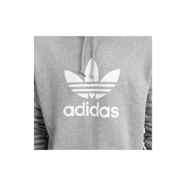 Adidas Sweat Originals Trefoil Hoodie Dt7963 pas cher