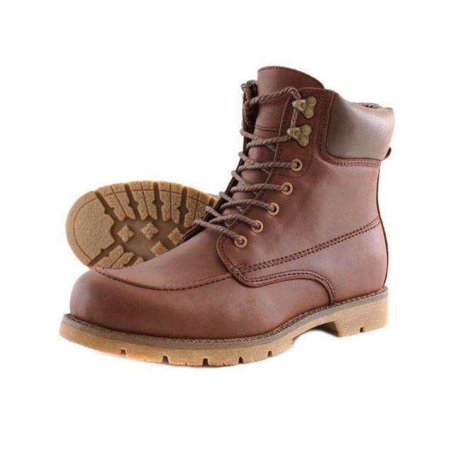 Goor Boots homme fashion B83078-1 Marron