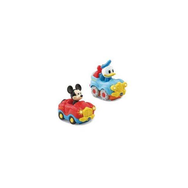 Vtech Coffret duo voitures Mickey et Donald Tut Tut Bolides - Disney