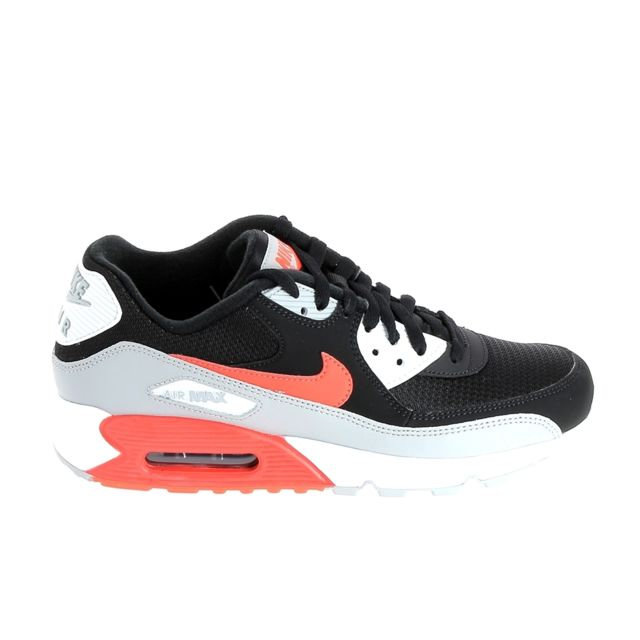 Air Max 90 Essential Gris Rouge