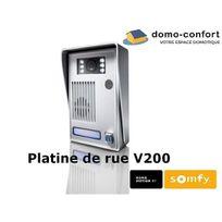 Somfy - Platine de rue seule de remplacement pour visiophone V200
