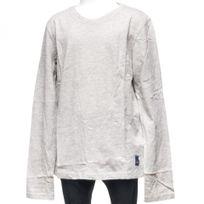 Japan Rags - Tee shirt manches longues Dix huit gris ml tee jr Gris 23070