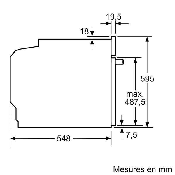 SIEMENS - four intégrable 71l 60cm a+ pyrolyse blanc - hb675gbw1f