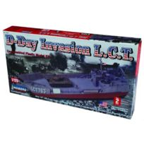 Lindberg - Model Kit - D-day Invasion Lct Boat - 1:125 Scale - 70867 - New