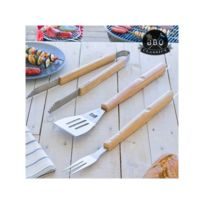 Bbq Classics - Ustensiles pour Barbecues Xl 3 pièces