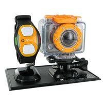 Hp - Ac-200W - Caméra Full Hd 1080p Wi-Fi 5 Mpx avec bracelet télecommande + caisson étanche