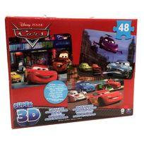 Spin Master - Disney Boîte 3 Puzzles Garçon - Image Effet 3D
