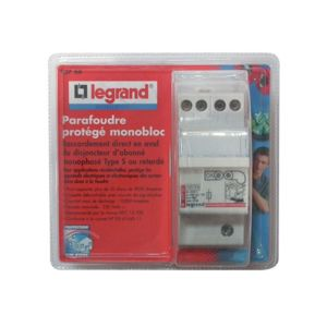 legrand parafoudre prot g monobloc 092766 pas cher achat vente coupe circuits et. Black Bedroom Furniture Sets. Home Design Ideas