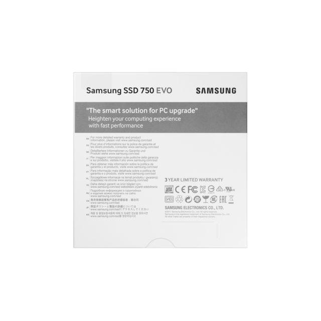 Samsung - SSD 750 EVO - 250 Go