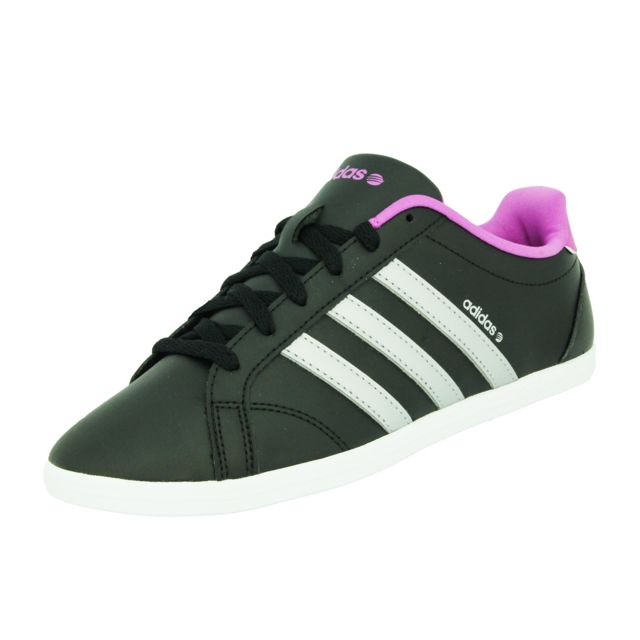 Adidas Neo - Coneo Qt Vs Chaussures Mode Sneakers Femme Noir Violet