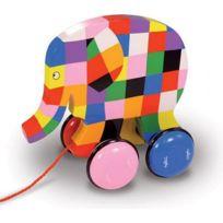 Vilac - Jouet à tirer Elmer l'éléphant