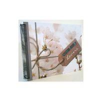 Ariane - Album photo à reliure spirale fleurs de cerisier nature lovers 60 pages traditionnelles