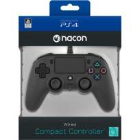 Manette filaire Officielle PS4 Compact Noire