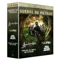 20th Century Fox - Guerre Du Vietnam - Coffret 4 Films Apocalypse Now + Platoon + Full Metal Jacket + Voyage Au Bout De L'enfer blu-ray