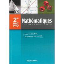 Delagrave - mathématiques ; 2nde ; bac pro