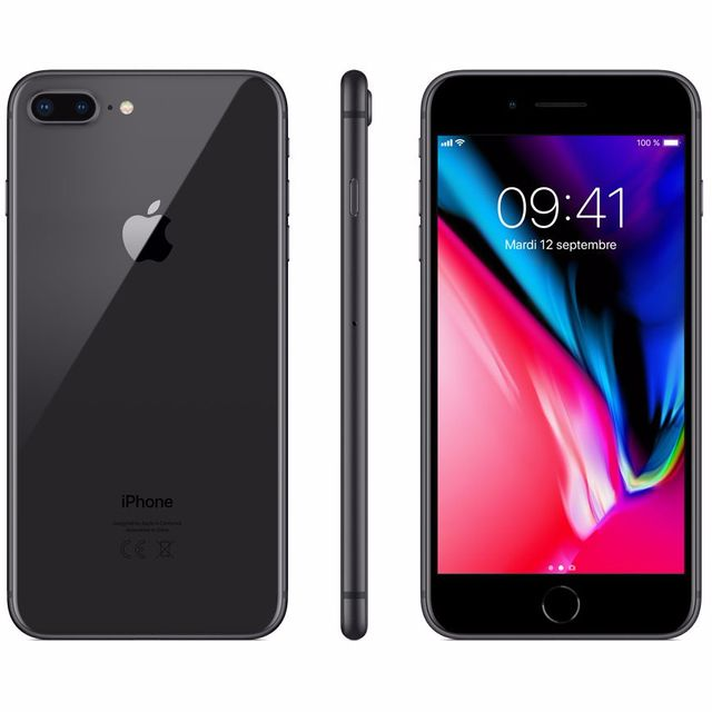 apple iphone 8 plus 256 go mq8p2zd a gris sid ral pas cher achat vente smartphone. Black Bedroom Furniture Sets. Home Design Ideas