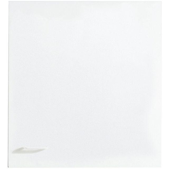 Comforium Armoire murale cuisine coloris blanc à 1 porte