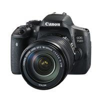 Canon - Eos 750D 24.2 Mps 3' Écran Lcd, Objectif à zoom