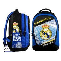 Real Madrid - Sac à dos 3 compartiments bleu