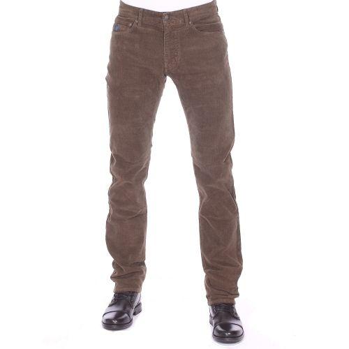 c568aad19afec Mcs - Pantalon droit en velours marron - pas cher Achat   Vente Pantalon  homme - RueDuCommerce