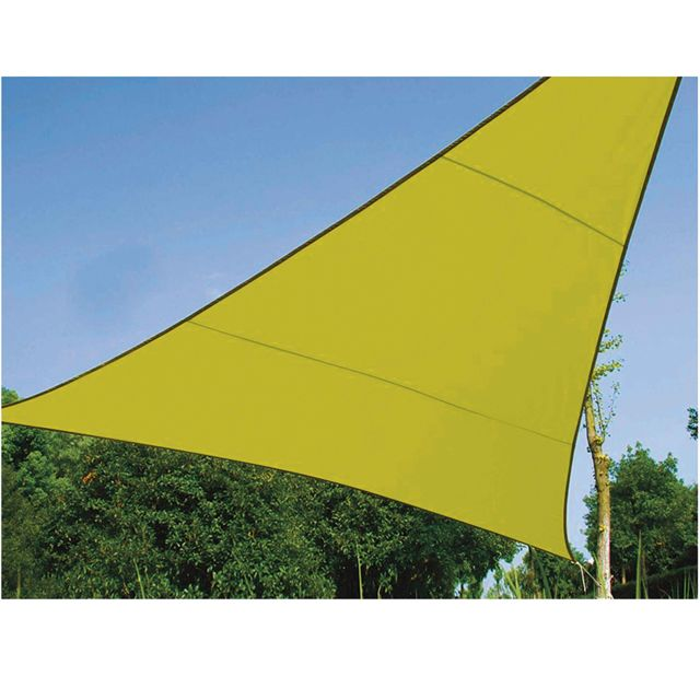 Provence Outillage Voile d'ombrage triangle 3,6 m verte