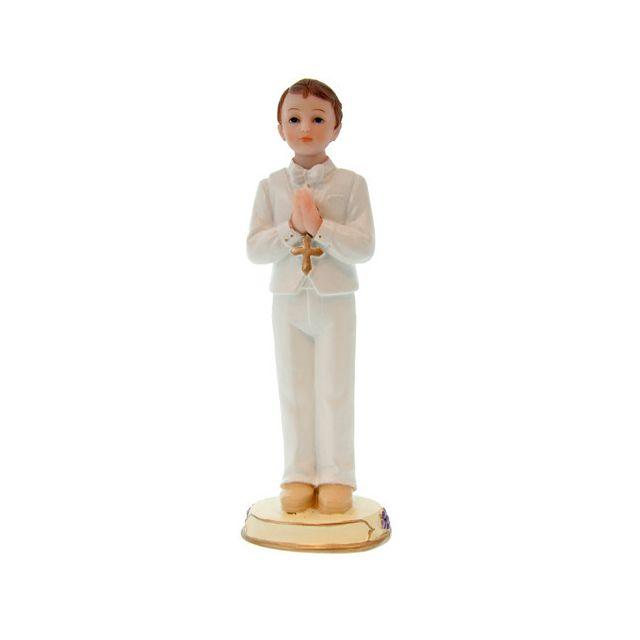 Figurine Communiant debout garçon 15 cm