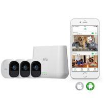 Arlo - Pack de 3 caméras de surveillance Pro