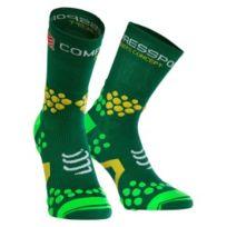 Compressport - Chaussettes ProRacing Socks v2.1 Trail Hi vert